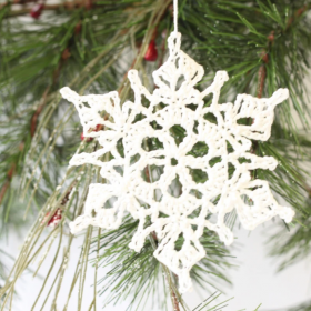 WomanCraft North Star Snowflake