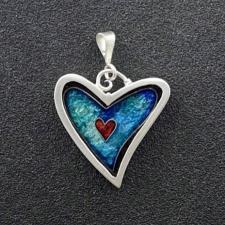 James Carter Heart Pendant